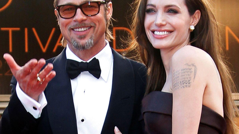 Brad y Angelina, cuando eran felices. (Reuters)