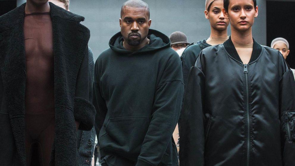 Kim Kardashian y Anna Wintour, en primera fila del desfile de Kanye West para Adidas