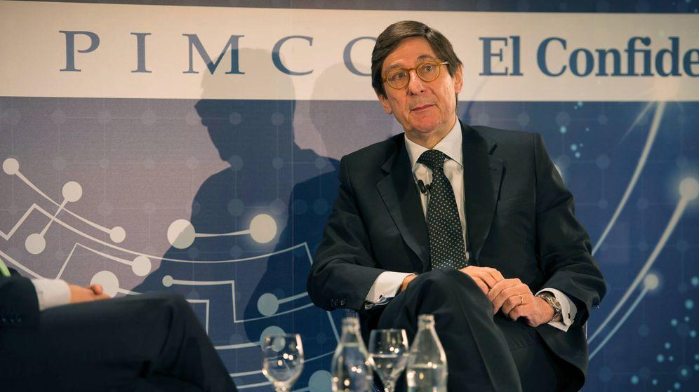 Foto: José Ignacio Goirigolzarri, presidente de Bankia, en el Foro El Confidencial-Pimco.