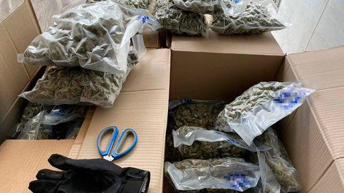 A prisión por transportar 83 kilos de marihuana en Vilafranca del Penedès