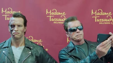 Arnold Schwarzenegger asusta a sus fans en el museo de cera de Los Ángeles