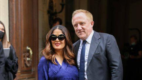 Salma Hayek y su marido, amor y lujo en la Semana de la Moda de París