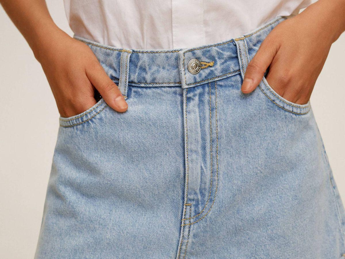 Foto: El pantalón corto vaquero de Mango. (Cortesía)