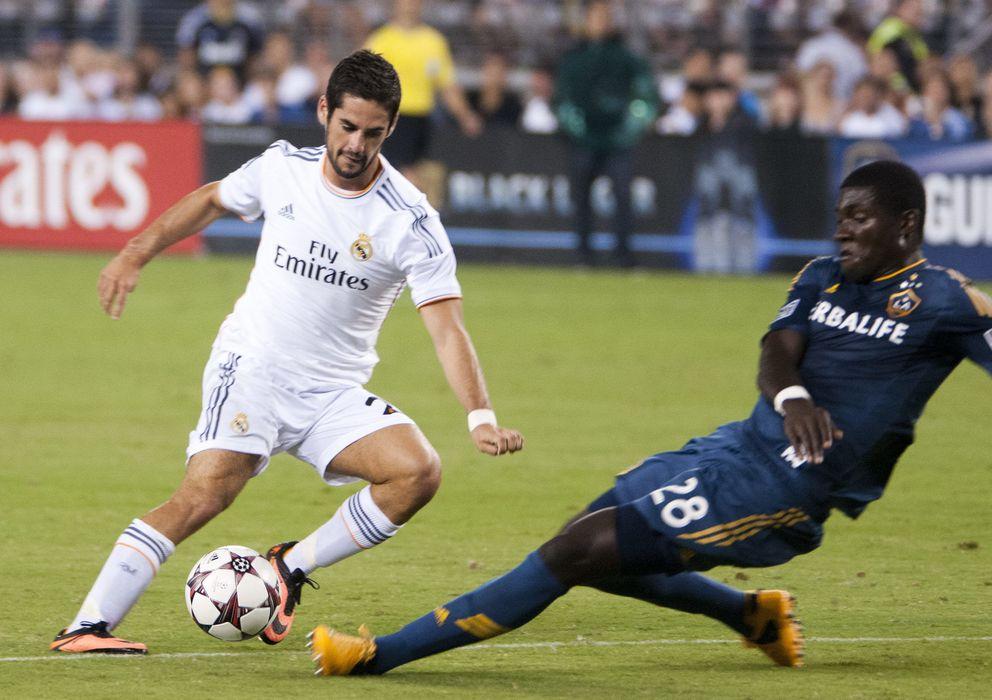 Foto: Isco, durante un partido