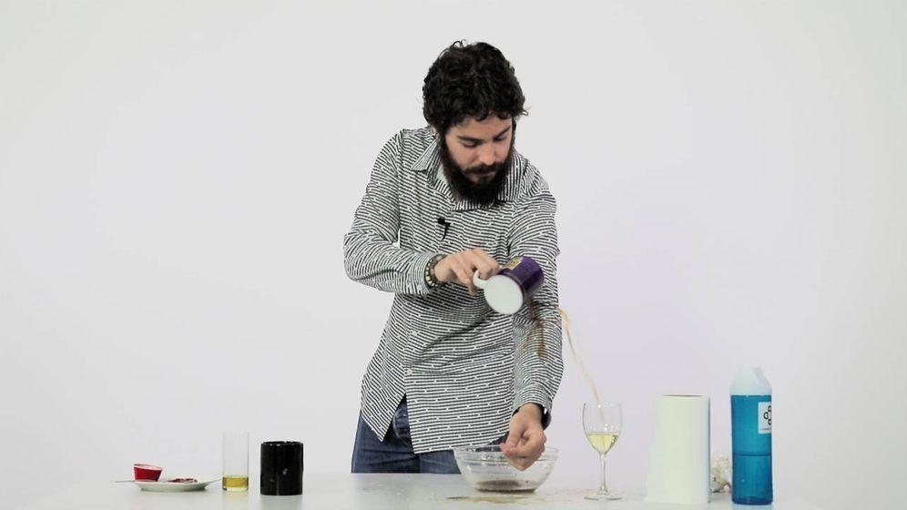 Foto: Derramando el café. (Ernesto Torrico)
