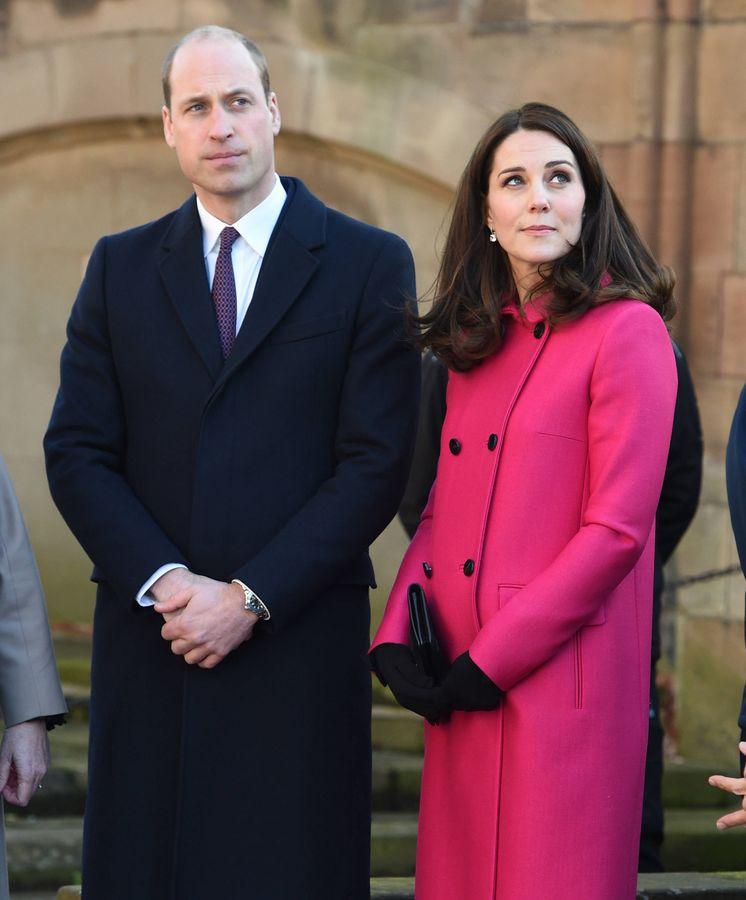 Foto: Los duques de Cambridge esperan su tercer hijo para abril. (Gtres)