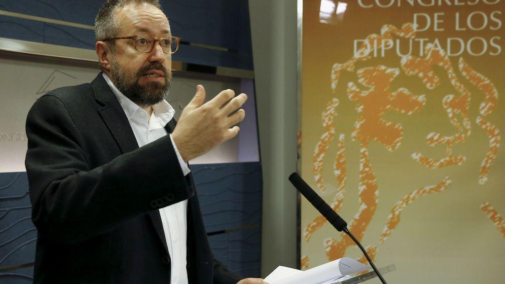 Foto: El portavoz de Ciudadanos, Juan Carlos Girauta (Efe).