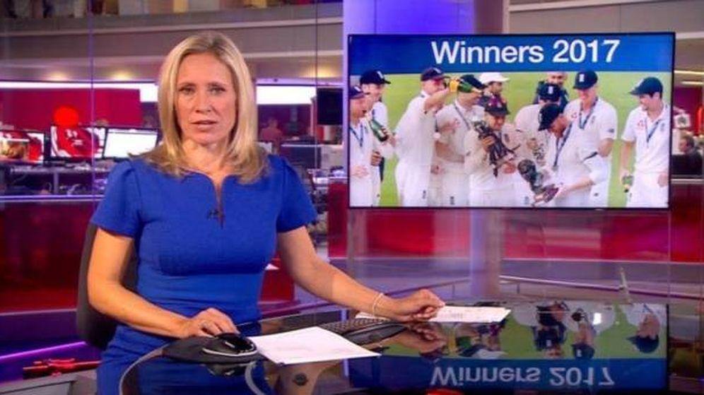 Foto: El pecho desnudo de una mujer se cuela en directo en BBC.