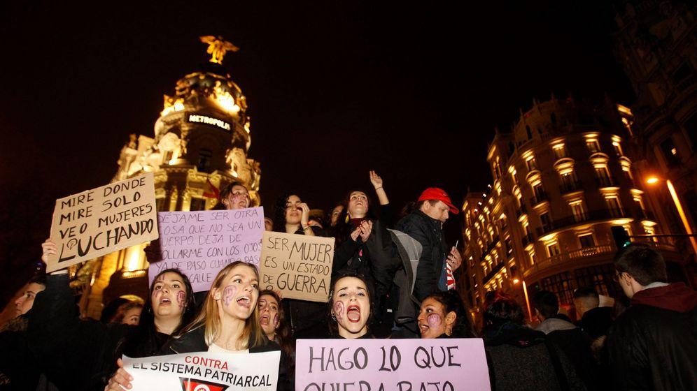 Foto: Manifestación en Madrid del pasado 8 de marzo. (EFE)