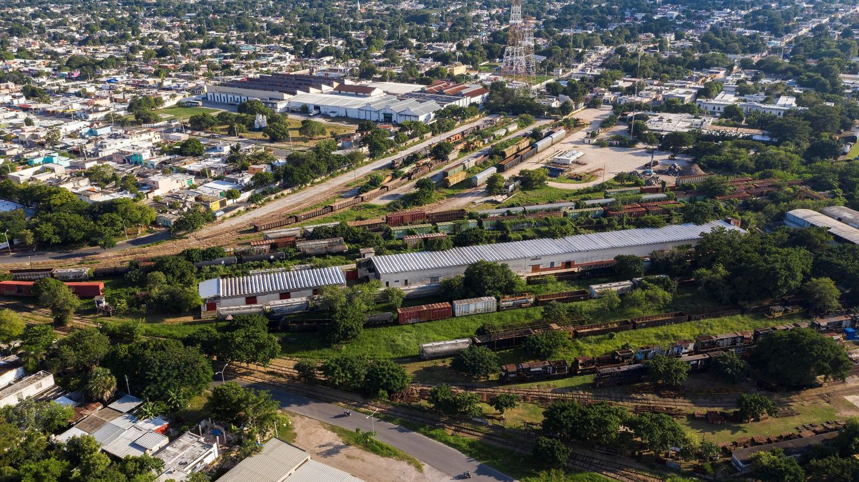 La antigua estación de ferrocarriles en la ciudad de Mérida, en el estado de Yucatán (México). (EFE)