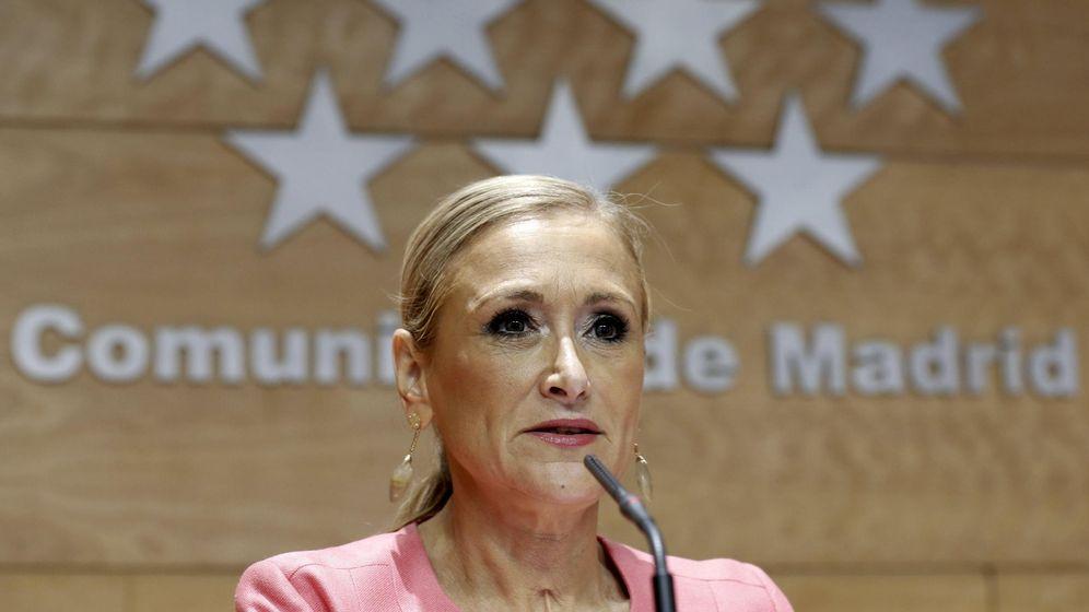 Foto: Cristina Cifuentes, presidenta de la Comunidad de Madrid (EFE)
