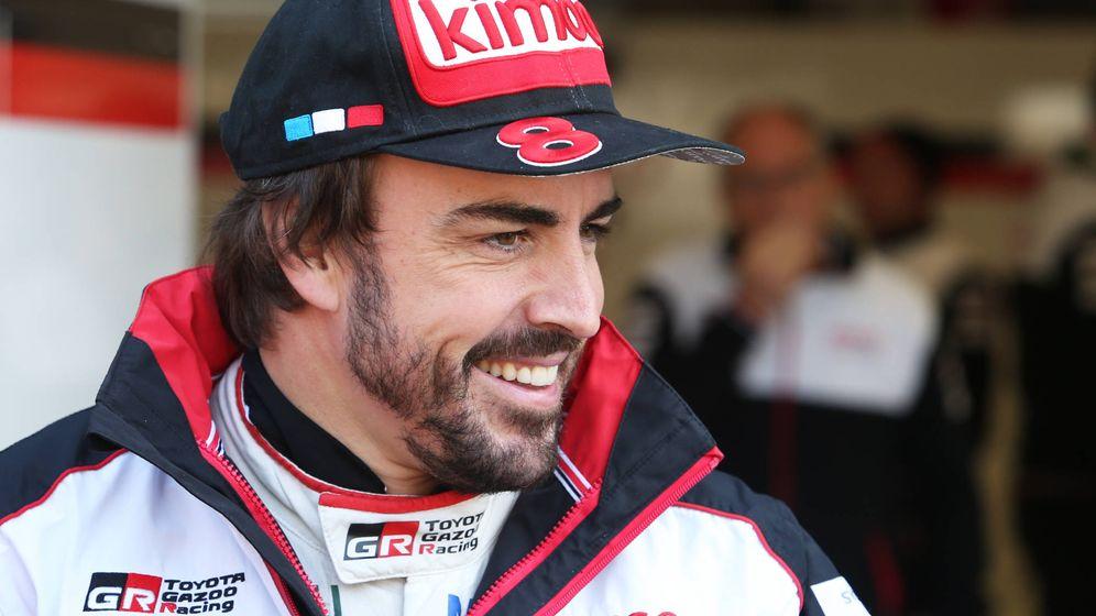 Foto: Fernando Alonso compite este fin de semana en las 6 Horas de Spa. (Toyota Gazoo Racing)