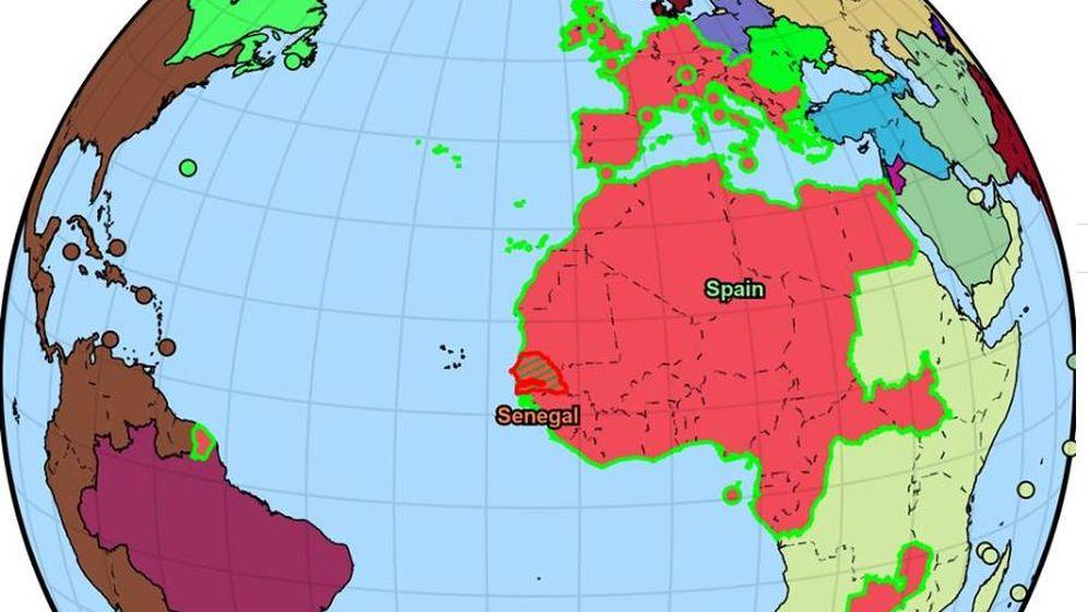 Foto: Imagen del nuevo imperio español.