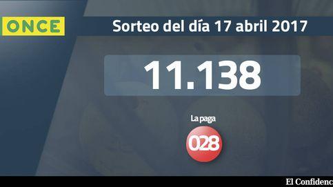 Resultados de la ONCE del 17 abril 2017: número 11.138