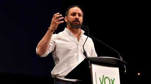 Abascal da un mitin de Vox en Palma, en la recta final de campaña