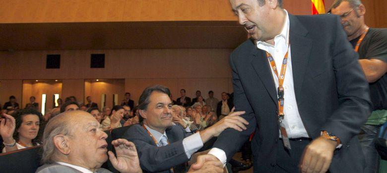 Foto: Artur Mas, Jordi Pujol y Felip Puig. (EFE)