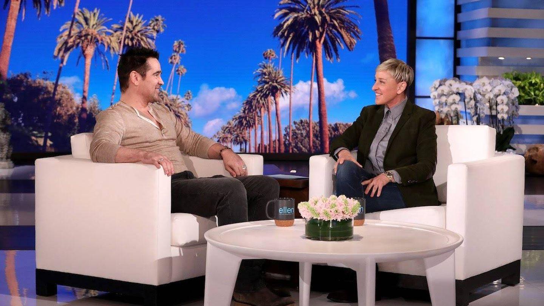 El actor, en 'El show de Ellen'. (NBC)