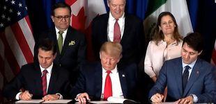 Post de Norteamérica escenifica en el G-20 la firma de su nuevo tratado de libre comercio