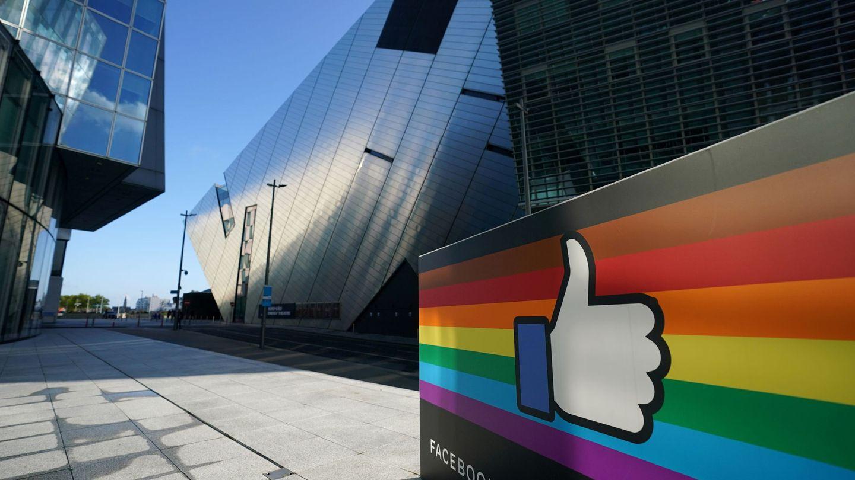 La sede de EMEA de Facebook en Irlanda. (Reuters)
