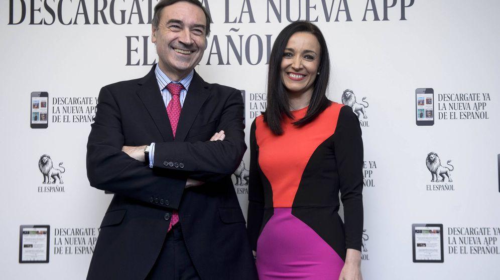 Foto: Pedro J. Ramírez y su nueva esposa, Cruz Sánchez. (Gtres)