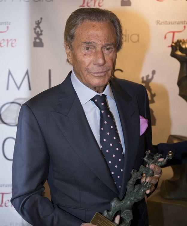 Foto: Arturo Fernández durante la entrega de Premios Concordia. (Gtres)