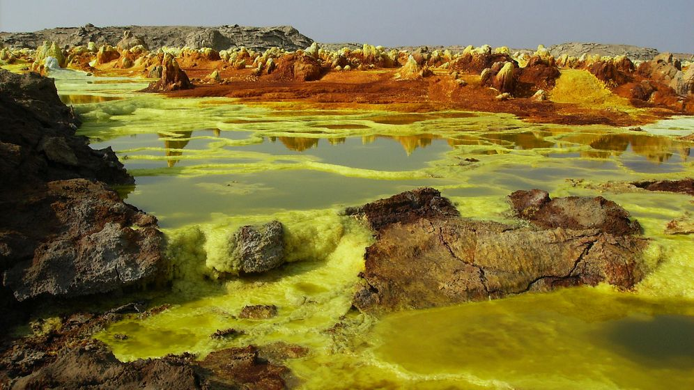 Foto: Paisaje del volcán Dallol, Etiopía (Flickr/Achilli Family)