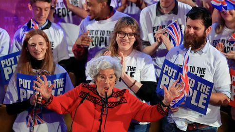 El icono europeísta del Reino Unido es ahora una mujer de 89 años
