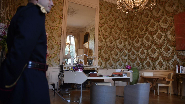 Despacho de Brigitte Macron. (EFE)