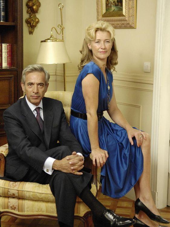 El matrimonio Alcántara en una imagen de 'Cuéntame'