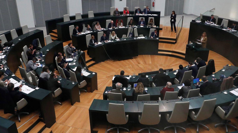 Imagen del pleno del Ayuntamiento de Madrid. (EFE)