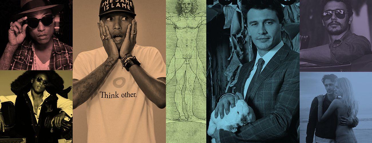 Foto: James Franco y Pharrell Williams: ¿hombres renacentistas o advenedizos multitarea?