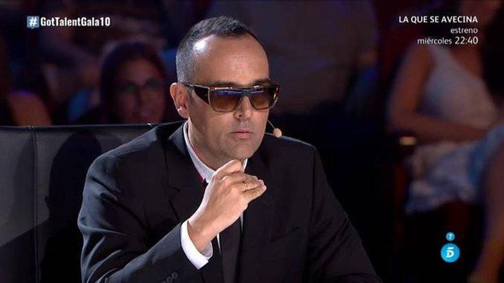 Foto: Risto Mejide, en 'Got Talent España'. (Telecinco)