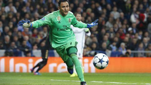 Keylor Navas alimenta las dudas tras su error en el partido contra el Nápoles