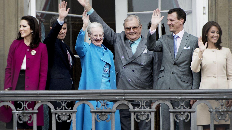 La familia real de Dinamarca en una imagen de 2016. (REUTERS)