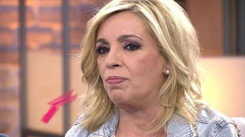 Carmen Borrego, decepcionada con Jorge Javier: Se me saltaron las lágrimas