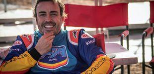 Post de El plan preparatorio de Fernando Alonso para decidir si corre el Dakar