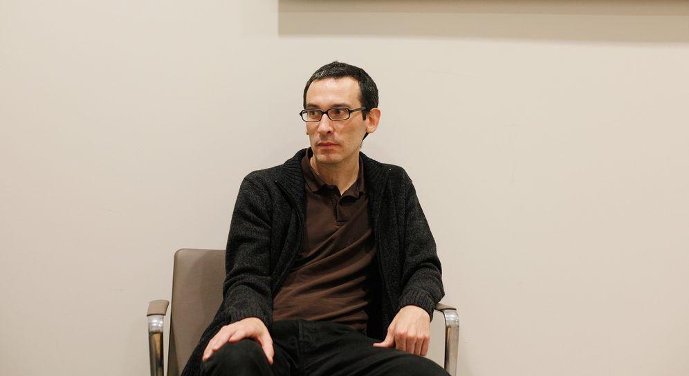 Foto: El escritor César Rendueles (Enrique Villarino)
