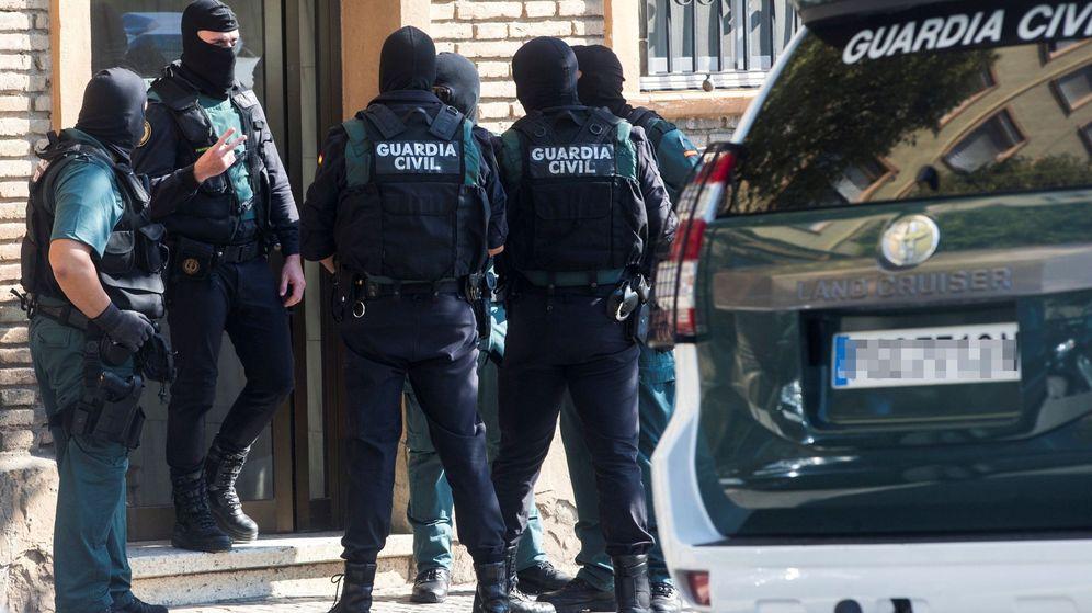 Foto: Operación yihadista en Mataró. (EFE)