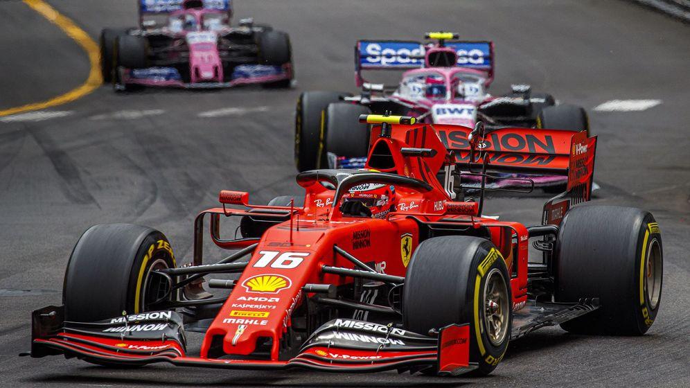 Foto: Leclerc en acción en el Gran Premio de Mónaco. (Reuters)