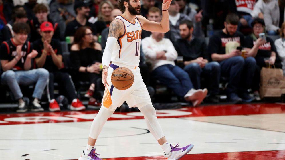 Foto: Ricky Rubio, durante un partido con los Phoenix Suns. (EFE)