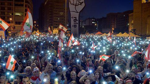 Un mes de las protestas en Líbano