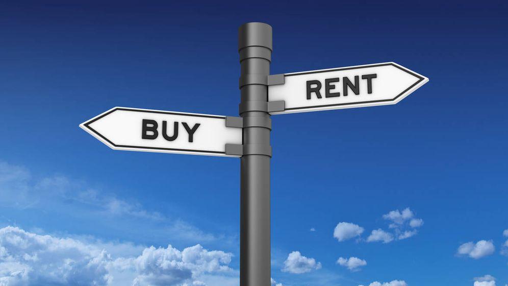 Foto: ¿Alquilar o comprar? (Reuters)