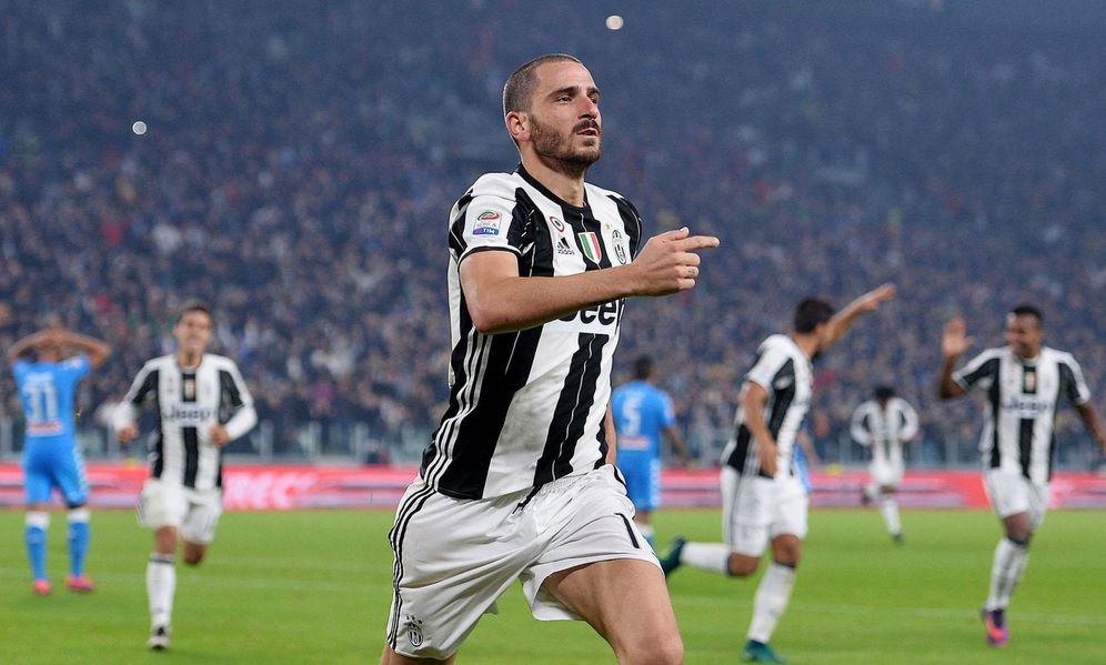 Foto: Bonucci, durante un partido disputado entre la Juventus y el Nápoles. (EFE)