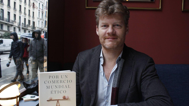 El autor, durante su paso por Madrid. (Foto: Héctor G. Barnés)