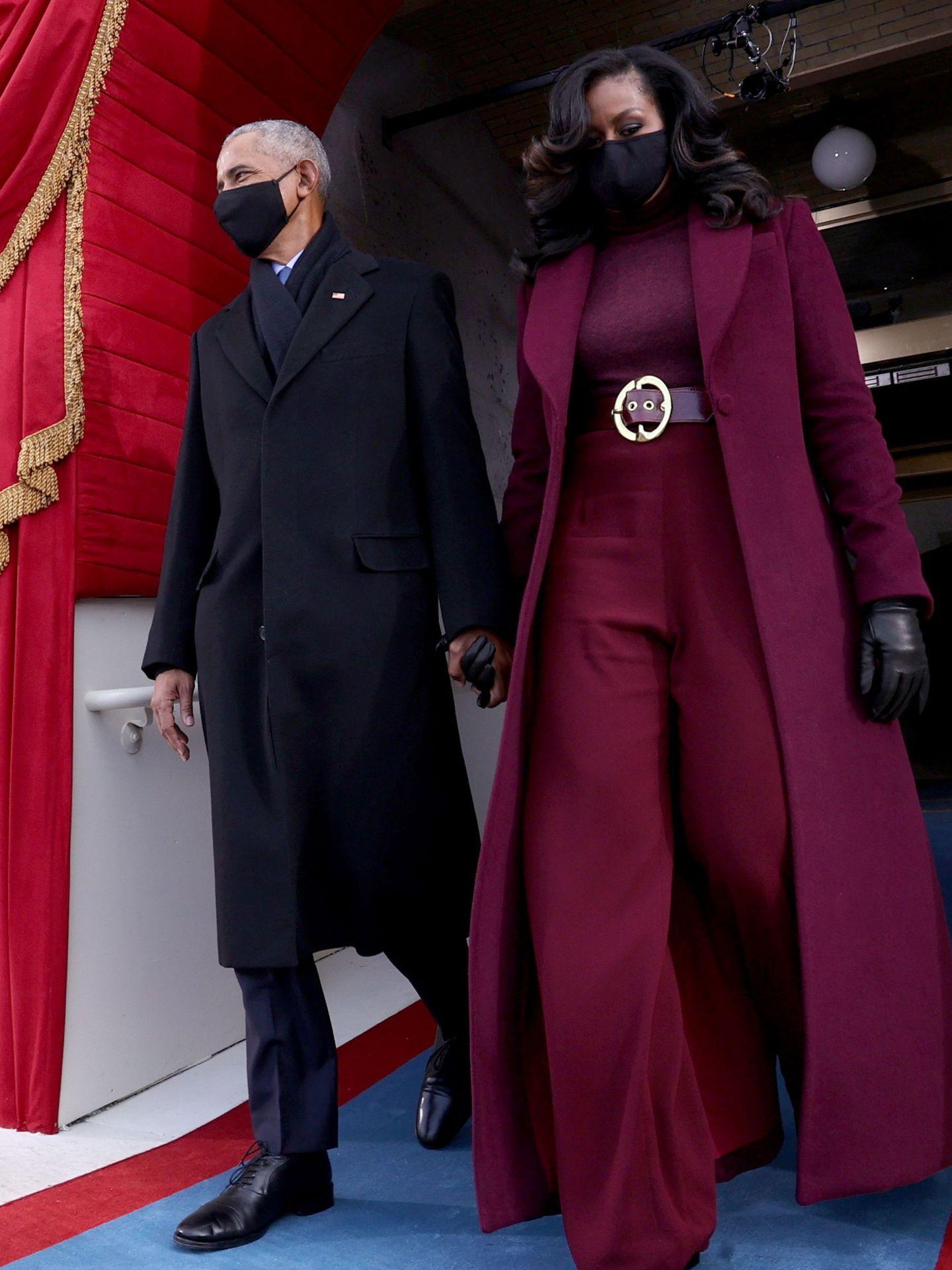 Barack y Michelle Obama, en la investidura de Joe Biden. (EFE)