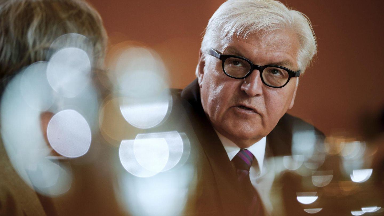 El ministro alemán de Asuntos Exteriores, Frank-Walter Steinmeier. (Reuters)