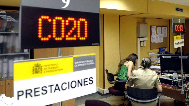 Foto: Interior de una oficina de empleo (Sepe).