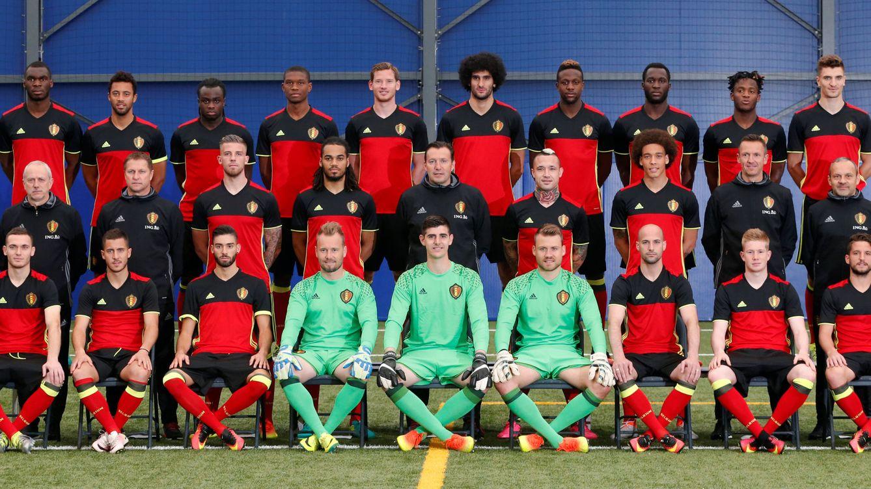 Foto: Selección de fútbol de Bélgica (REUTERS)