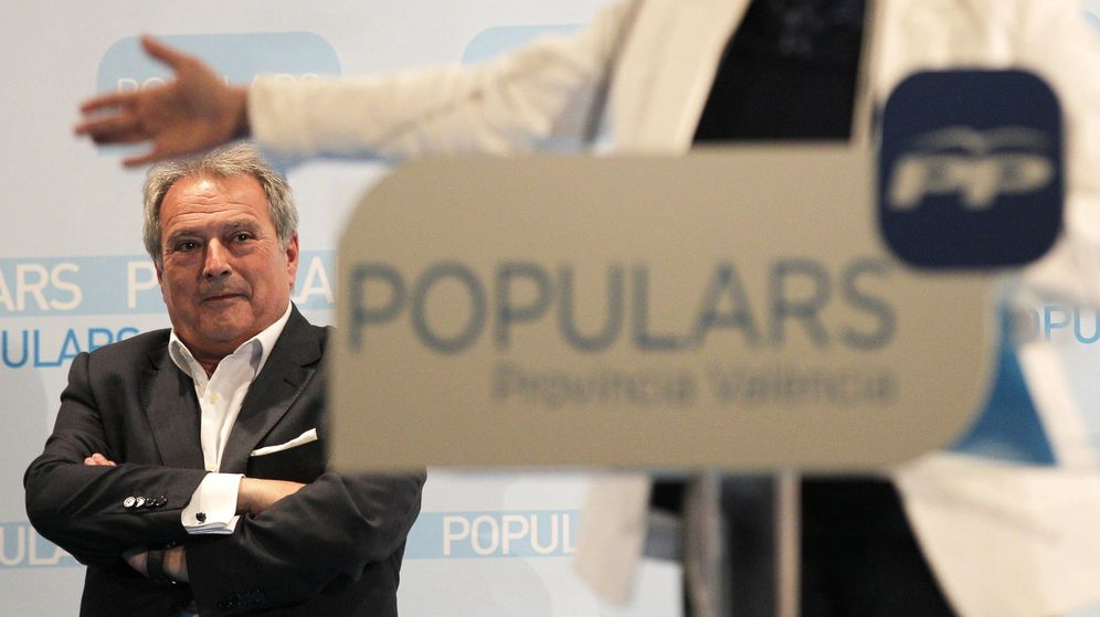 Foto: El expresidente de la Diputación de Valencia Alfonso Rus. (EFE)