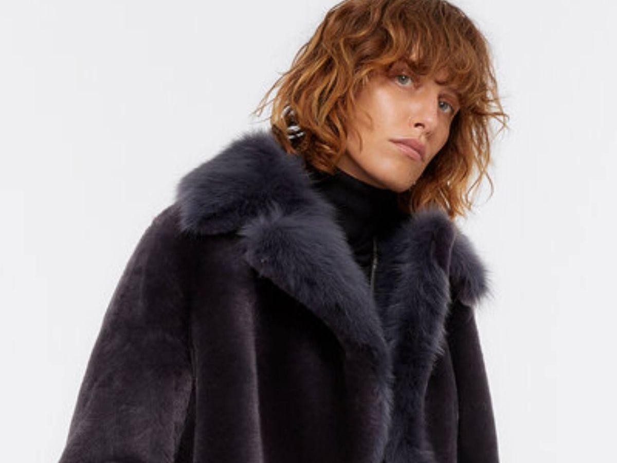 Foto: El abrigo más lujoso de Uterqüe. (Cortesía)